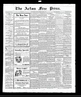 Acton Free Press (Acton, ON)13 Oct 1921