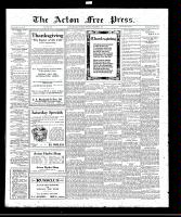 Acton Free Press (Acton, ON)3 Nov 1921