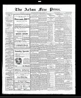 Acton Free Press (Acton, ON)24 Nov 1921