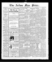 Acton Free Press (Acton, ON)15 Dec 1921