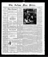 Acton Free Press (Acton, ON)22 Dec 1921