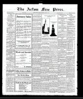Acton Free Press (Acton, ON)12 Jan 1922