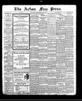 Acton Free Press (Acton, ON)26 Jan 1922