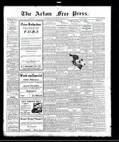 Acton Free Press (Acton, ON)23 Feb 1922