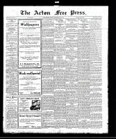 Acton Free Press (Acton, ON)2 Mar 1922
