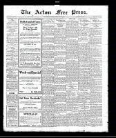 Acton Free Press (Acton, ON), March 30, 1922
