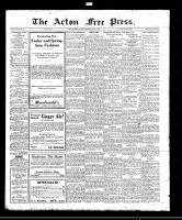 Acton Free Press (Acton, ON)13 Apr 1922