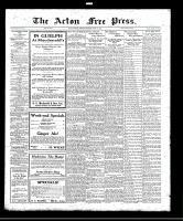 Acton Free Press (Acton, ON), April 20, 1922