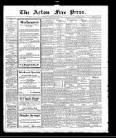 Acton Free Press (Acton, ON)4 May 1922