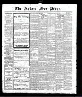 Acton Free Press (Acton, ON)11 May 1922
