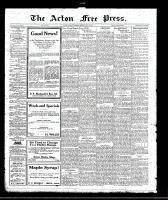 Acton Free Press (Acton, ON), May 18, 1922