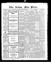 Acton Free Press (Acton, ON)15 Jun 1922