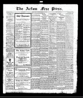 Acton Free Press (Acton, ON), July 27, 1922