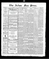 Acton Free Press (Acton, ON)17 Aug 1922