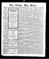 Acton Free Press (Acton, ON), September 28, 1922