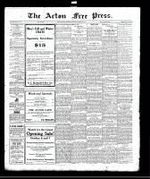 Acton Free Press (Acton, ON)5 Oct 1922