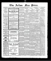 Acton Free Press (Acton, ON)12 Oct 1922