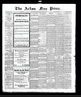 Acton Free Press (Acton, ON), October 19, 1922