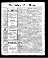 Acton Free Press (Acton, ON)26 Oct 1922
