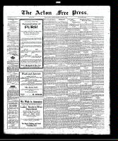 Acton Free Press (Acton, ON)2 Nov 1922