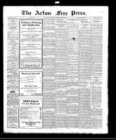 Acton Free Press (Acton, ON)16 Nov 1922