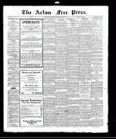 Acton Free Press (Acton, ON)23 Nov 1922