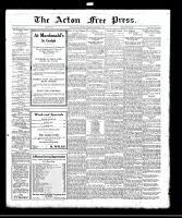Acton Free Press (Acton, ON)30 Nov 1922