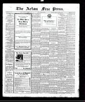Acton Free Press (Acton, ON)21 Dec 1922