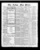 Acton Free Press (Acton, ON)4 Jan 1923
