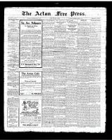 Acton Free Press (Acton, ON)1 Mar 1923