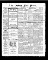 Acton Free Press (Acton, ON)15 Mar 1923
