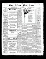 Acton Free Press (Acton, ON)29 Mar 1923
