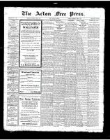 Acton Free Press (Acton, ON)5 Apr 1923