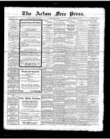 Acton Free Press (Acton, ON)12 Apr 1923