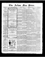Acton Free Press (Acton, ON)3 May 1923
