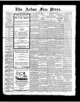 Acton Free Press (Acton, ON), June 7, 1923