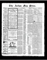 Acton Free Press (Acton, ON)12 Jul 1923