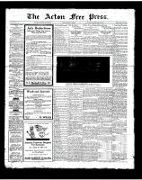 Acton Free Press (Acton, ON), July 26, 1923