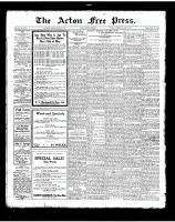 Acton Free Press (Acton, ON), August 9, 1923