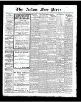Acton Free Press (Acton, ON)25 Oct 1923