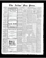 Acton Free Press (Acton, ON)15 Nov 1923