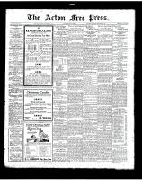 Acton Free Press (Acton, ON)6 Dec 1923
