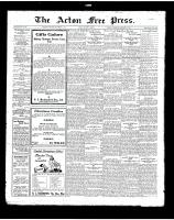 Acton Free Press (Acton, ON)13 Dec 1923