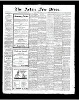 Acton Free Press (Acton, ON), January 3, 1924
