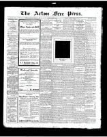 Acton Free Press (Acton, ON)14 Feb 1924