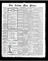 Acton Free Press (Acton, ON)17 Apr 1924