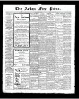 Acton Free Press (Acton, ON)1 May 1924