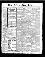 Acton Free Press (Acton, ON)8 May 1924