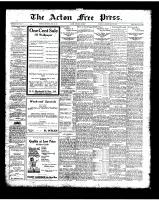 Acton Free Press (Acton, ON)22 May 1924