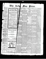 Acton Free Press (Acton, ON)26 Jun 1924